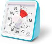 HomeTravelers Timer klok - Leerklok - Speelgoed voor kinderen - Blauw