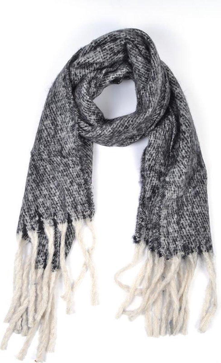Sjaal ZwartGrijs