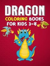 Dragon Coloring Books For Kids 3-8