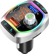 DINTO® Bluetooth FM transmitter - Auto Lader - Carkit - Handsfree - USB 3.0 - MP3 - SD Kaart - Snel Lader - Bluetooth Audio Receiver