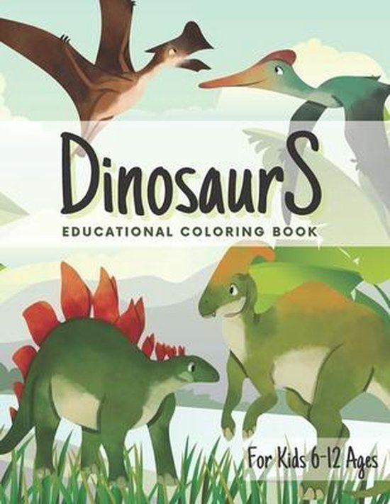 Dinosaurs Educational Coloring Book