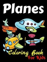 Coloring Book For Kids Planes