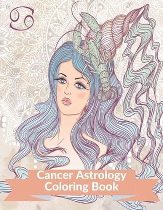 Cancer Astrology Coloring Book