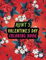 Aunt's Valentine Day Coloring Book