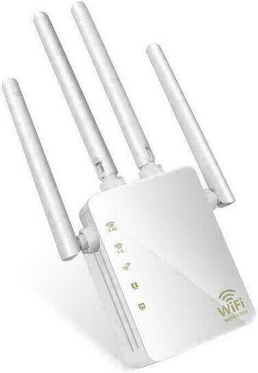 5Ghz en 2.4Ghz Dual Band Wifi Repeater. 1200Mbps