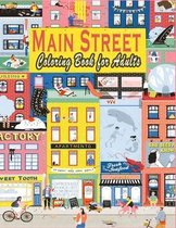 Main Street Coloring Book for Adults