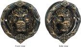 Deurklopper - Gietijzeren leeuw hoofd - Gedetailleerde klopper - 22 cm breed