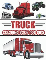Truck Coloring Book For Kids.: Cool Truck Coloring Book For Kids Who Love Trucks! Ages(2-4) (4-10).