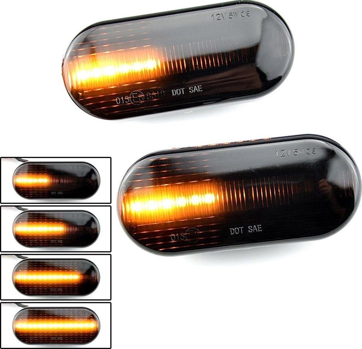 LED Dynamic Zijknipperlichten voor Volkswagen Golf 3 - Golf 4 - Polo - Lupo - Passat - Bora - Sharan