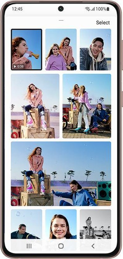 Samsung Galaxy S21 - 5G - 128GB - Phantom Gray