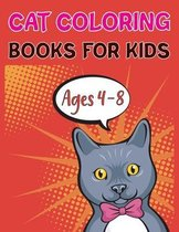 Cat Coloring Books For Kids Ages 4-8: The Little Cat Coloring Book