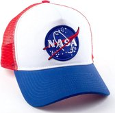 NASA Logo White and Blue Baseball Cap