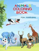 Animals Coloring Book For Toddlers