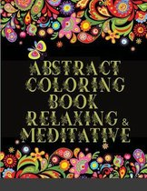 Abstract Coloring Book Relaxing & Meditative