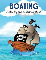 Boating Activity and Coloring Book