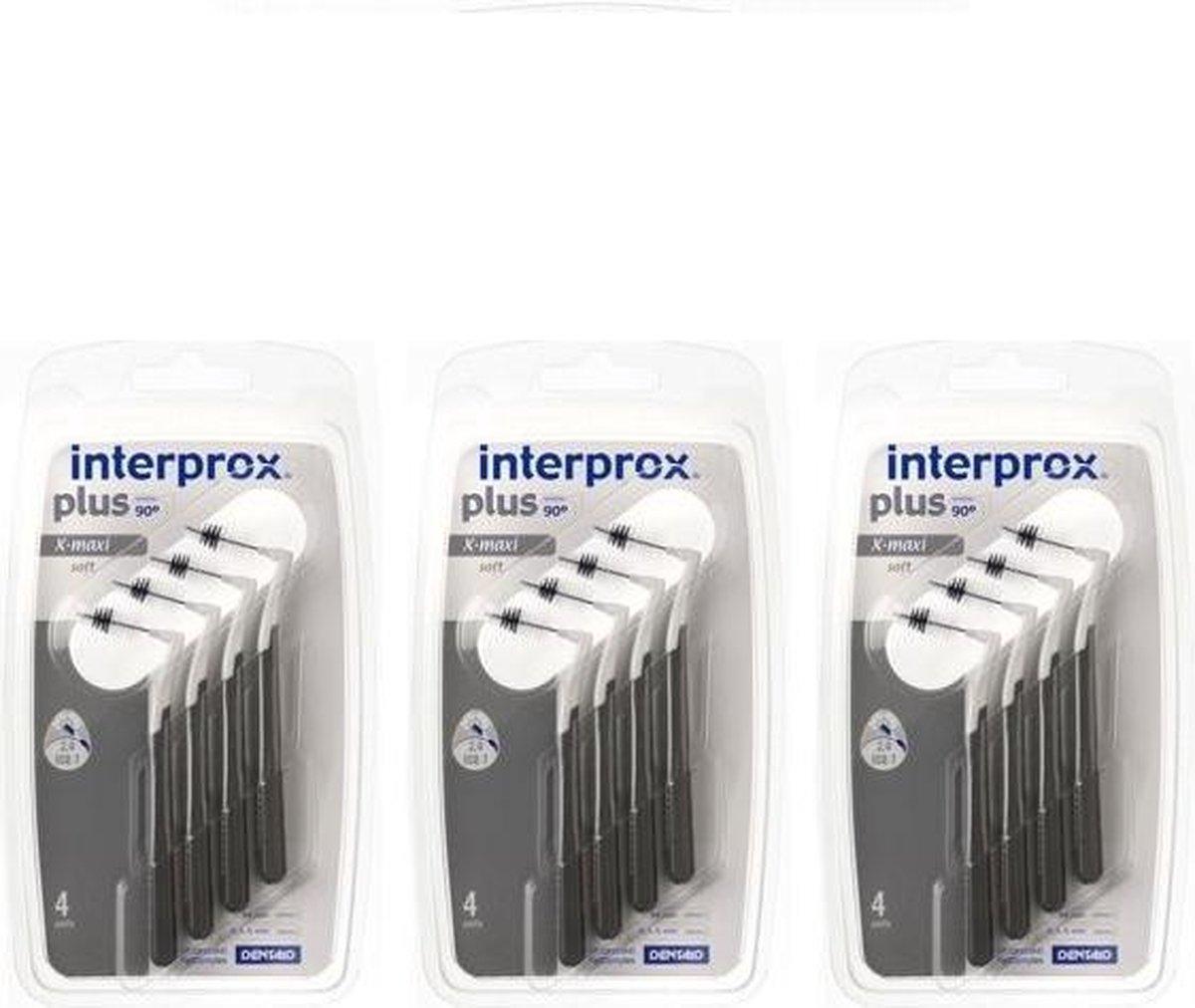 Interprox Plus X Maxi - 4,5 tot 9 mm - 3 x 4 stuks