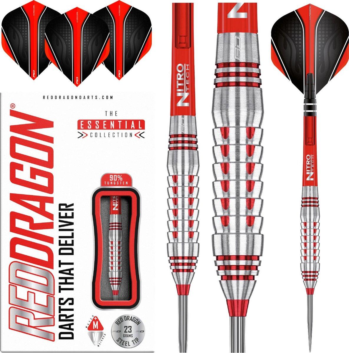 RED DRAGON - Firebird: Steeltip Tungsten Dartpijlen Professioneel - 23 gram