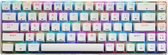Pakito S68 - 65% Mechanisch Gaming Toetsenbord - Red Switch - USB - Qwerty - Mechanical Gaming Keyboard - Wit