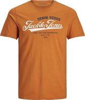 JACK&JONES ESSENTIALS JJELOGO TEE SS O-NECK 2 COL SS21 NOOS Heren T-shirt - Maat XL