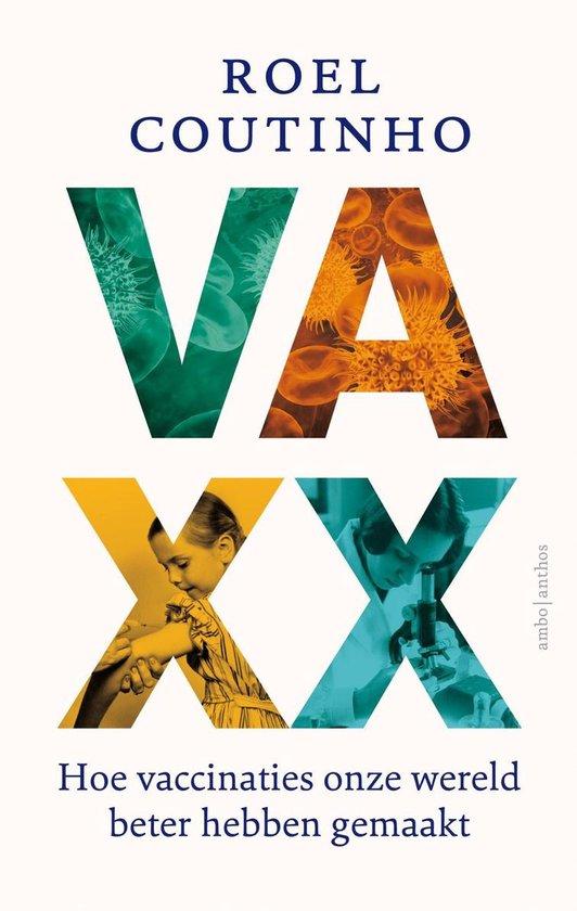 Boek cover Vaxx van Roel Coutinho (Onbekend)