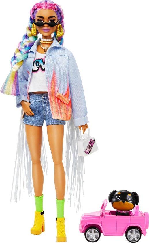 Barbie Extra - Rainbow Braids