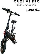 I-CIGO - OUXI-V1 PRO - E-Bike - Elektrische Fiets - vouwfiets-met Lithuim-ion accu 7.8ah- 250W motor (Zwart)