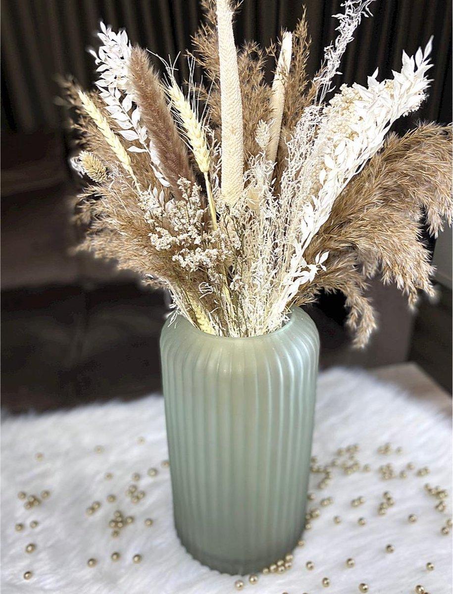 Droogbloemen Boeket 75CM - Nude - Boeket - Dried Flowers - Pampas Pluimen - Gedroogde Bloemen