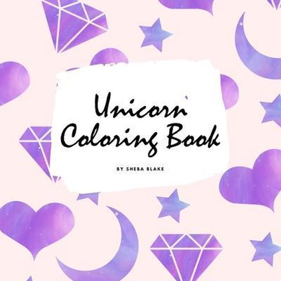 Unicorn Coloring Book for Children (8.5x8.5 Coloring Book / Activity Book)