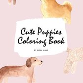Cute Puppies Coloring Book for Children (8.5x8.5 Coloring Book / Activity Book)