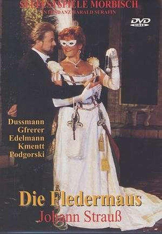 CD cover van J Strauss: Die Fledermaus - Morbischer Seefestspi van Lindskog