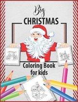 Big Christmas Coloring Book for kids