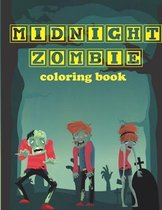 Midnight Zombie, coloring book