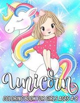 Unicorn Coloring Book for Girls Ages 4-8