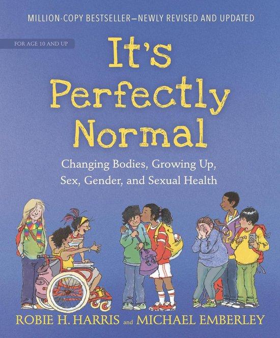 Boek cover Its Perfectly Normal van Robie H. Harris (Hardcover)