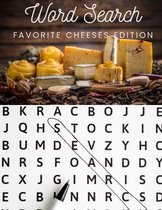 Word Search: Favorite Cheeses Edition