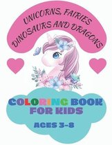 Coloring Book for Kids Ages 3-8