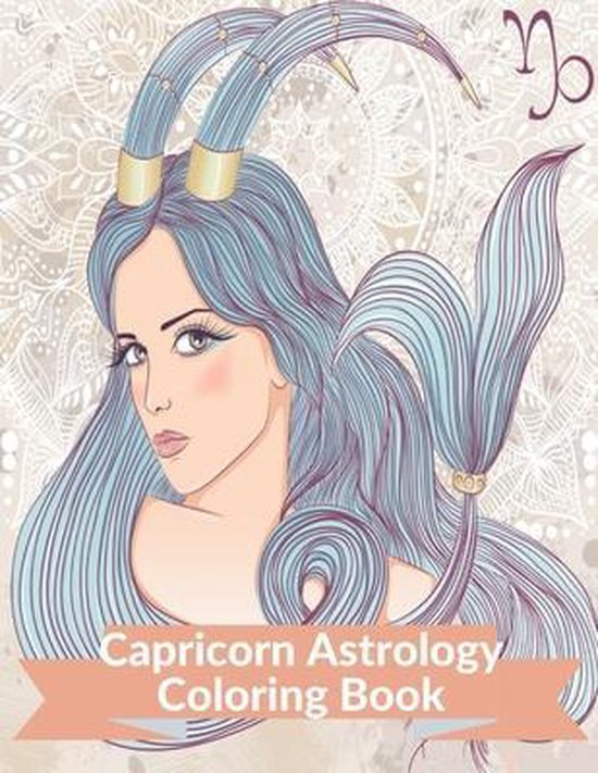 Capricorn Astrology Coloring Book