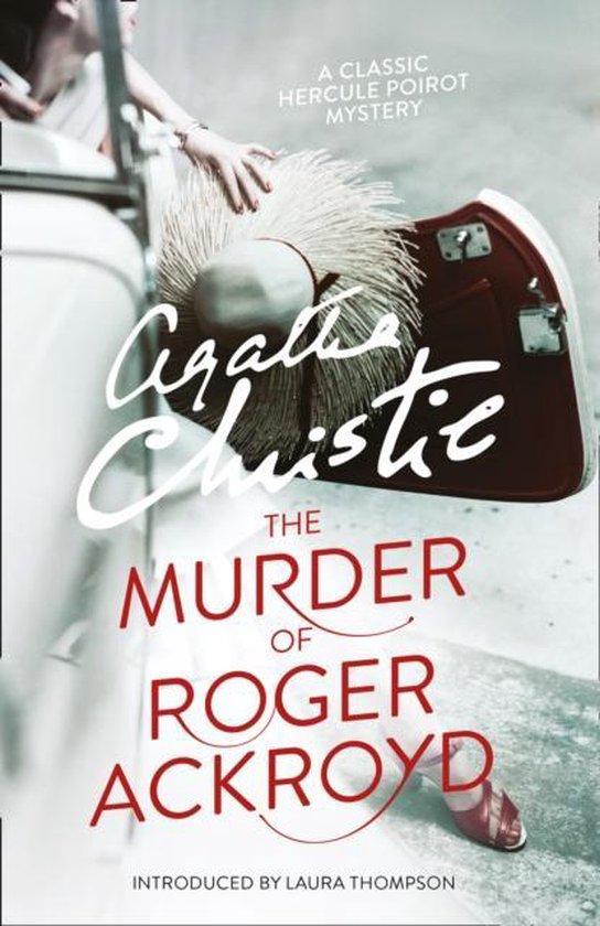 Boek cover The Murder of Roger Ackroyd (Poirot) van Agatha Christie (Paperback)