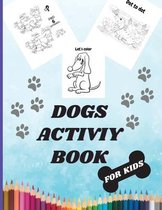 Dogs Activity Book For Kids