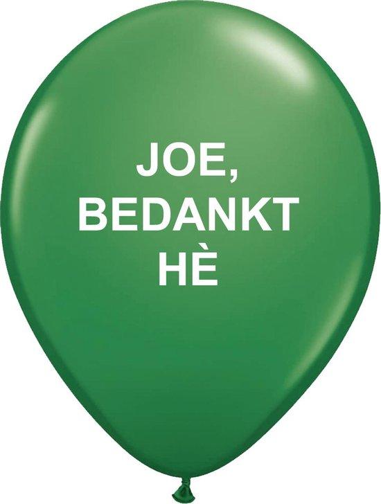 Rotterdam Ballon Joe, bedankt hè