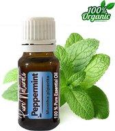 Pepermunt etherische Olie 10 ml   Peppermint Oil   100% PUUR   Bio   Essentiële olie Aromatherapie   Olie diffuser   Geschikt voor inname   Pure Naturals