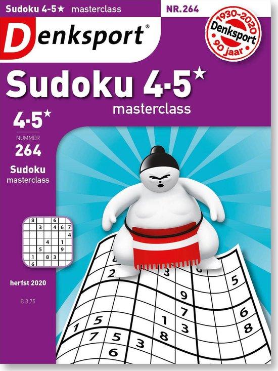 Afbeelding van Denksport Puzzelboek Sudoku 4-5* editie 266