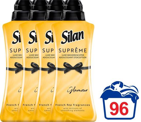 Silan Suprême Wasverzachter Glamour - Voordeelverpakking - 4 x 24 wasbeurten
