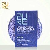 Organic Lavendel Shampoo Bar 60g - vegan en geen chemicalen