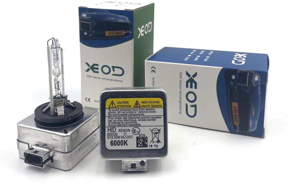 XEOD - Xenon D1S set van 2 lampen – Auto – Dimlicht & Grootlicht – 8000K