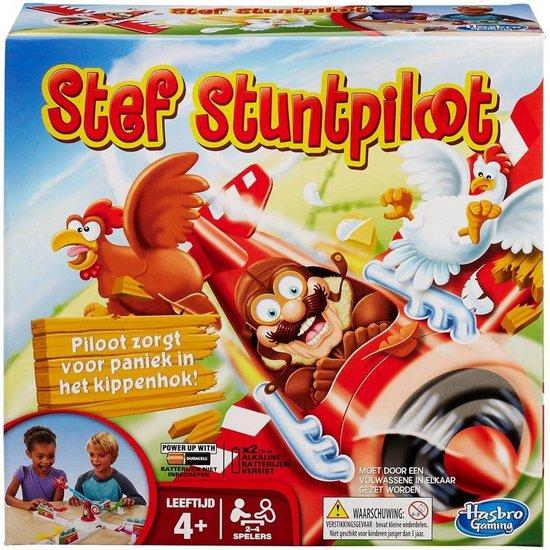 Afbeelding van het spel Stef Stuntpiloot - Partyspel - Kinderspel