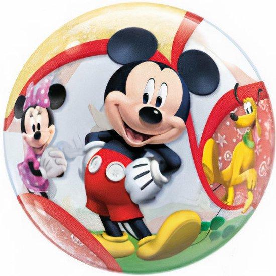 Folieballon - Mickey Mouse & Donald Duck - Bubble - 56cm - Zonder vulling