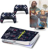PS5 skin Cyberpunk - PS5 Disk | Playstation 5 sticker | 1 console en 2 controller stickers