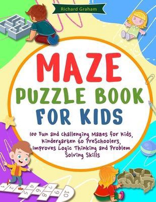 Maze Puzzle Book for Kids