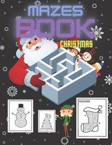 Christmas Mazes Book